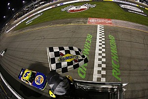NASCAR XFINITY Race report Harvick dominates in seventh Nationwide Series win at Richmond