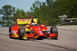 KV AFS Racing driver Saavedra qualifies 13th at the Honda Indy Grand Prix of Alabama
