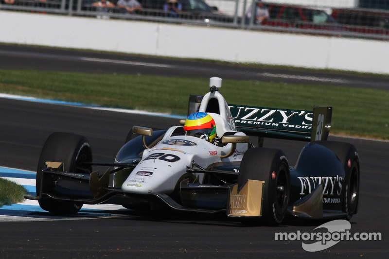 Botched standing start hurts Conway's chanses early in strange inaugural GP of Indianapolis