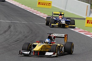 GP2 Race report Jolyon Palmer and DAMS while mastering