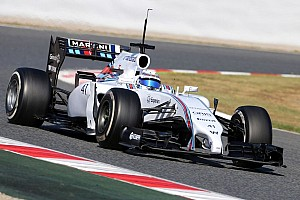 Formula 1 Testing report A very productive day today for Williams at Barcelona testing