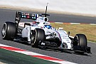 A very productive day today for Williams at Barcelona testing