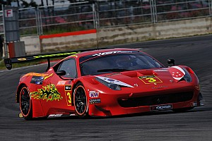 GT Practice report Ferrari on top in Korea after official practice