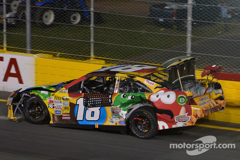 Kyle Busch and Joey Logano exit All-Star Race early at Charlotte
