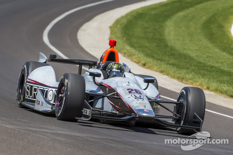 Kurt Busch crashes at Indy