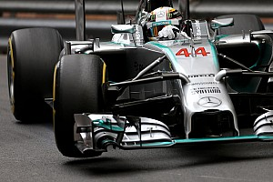 Hamilton fastest in P1 with Rosberg and Ricciardo behind in Monte Carlo