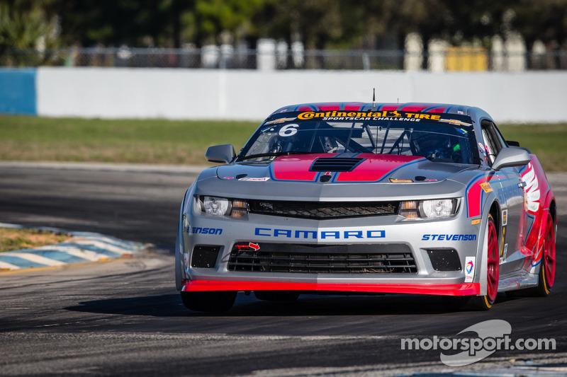 Stevenson Motorsports Z/28s score a podium at Lime Rock