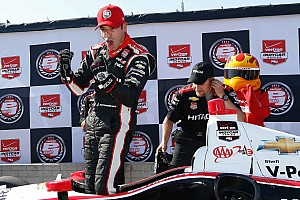 IndyCar Qualifying report Helio Castroneves on pole for first IndyCar race at Belle Isle