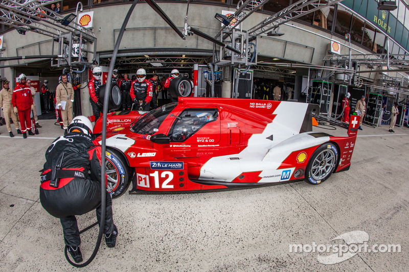 Mixed experiences for Rebellion Racing during Le Mans 24 Hours Test Day