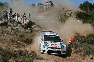 WRC Stage report Latvala takes Rally Italia lead after Hanninen rolls his Hyundai
