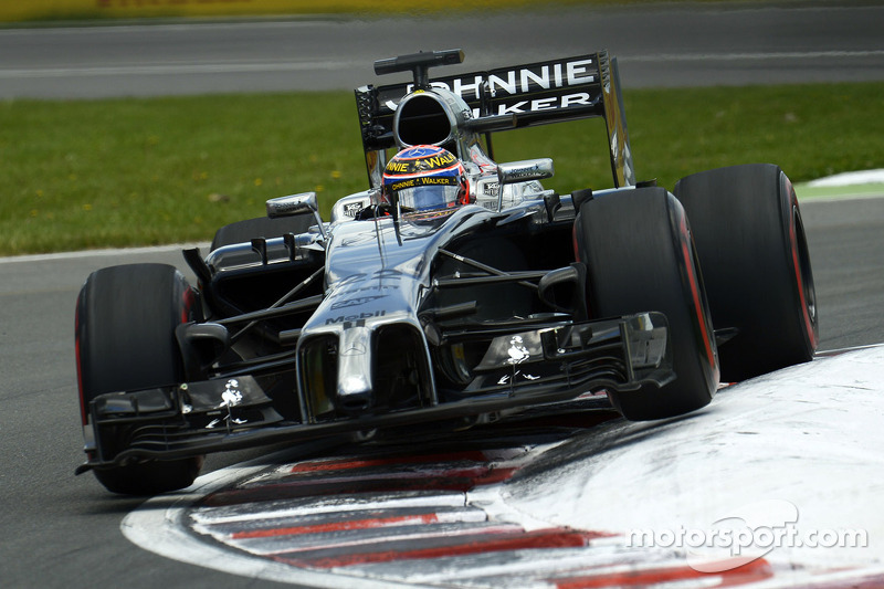 Both McLaren drivers in points in the Canadian GP