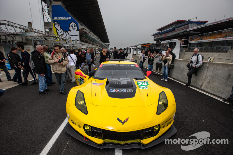 Corvette Racing bidding for eigth class victory at Le Mans