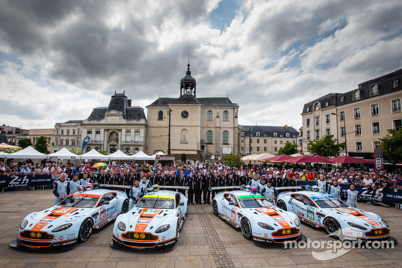 Aston Martin is all set for Le Mans challenge