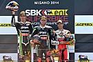 Sykes wins opening WSBK race in Misano from team mate Baz