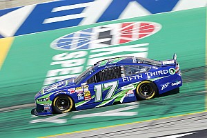 NASCAR Sprint Cup Qualifying report Kentucky front row good, bad news for Ford