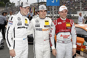 DTM Qualifying report Robert Wickens to start from pole position at Norisring