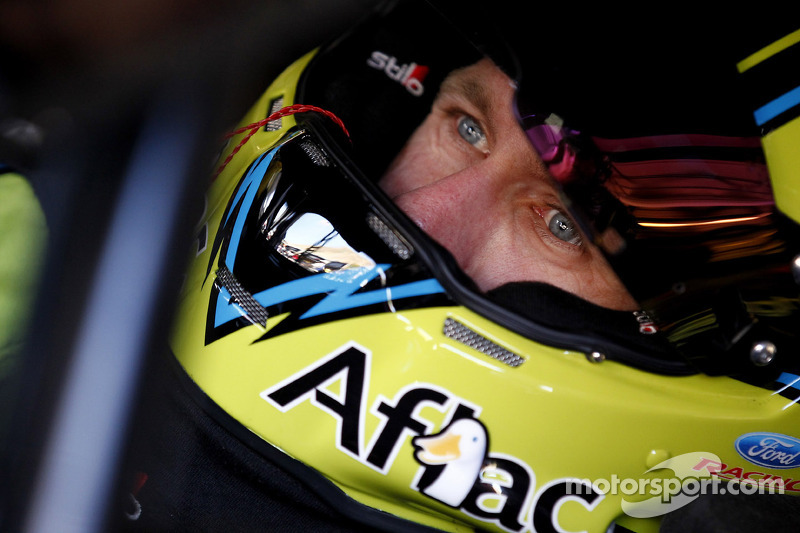 Carl Edwards meets with Furniture Row Racing at Daytona