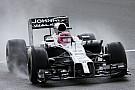 McLaren's Button will start on third position on tomorrow's British GP