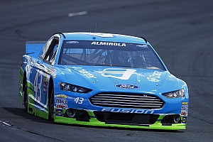 NASCAR Sprint Cup Qualifying report Almirola