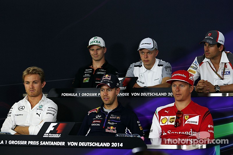 2014 German Grand Prix Thursday press conference