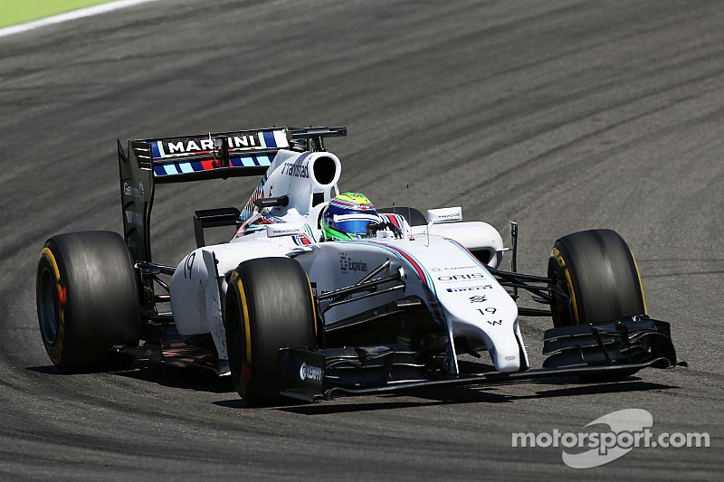 Williams optimise the car as much as possible on practice day for the German GP