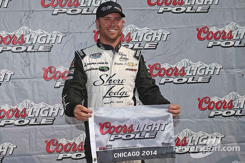 Brian Scott will lead the Nationwide field in Saturday's EnjoyIllinois.com 300