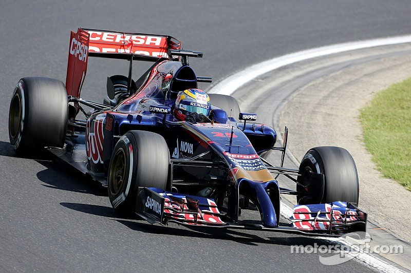 Toro Rosso have a good FP1 and a bad FP2 at Hungaroring