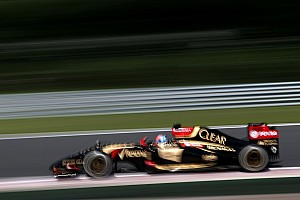 Formula 1 Qualifying report Maldonado's car stops in Q1 and Grosjean qualify in fifteenth for the Hungarian GP
