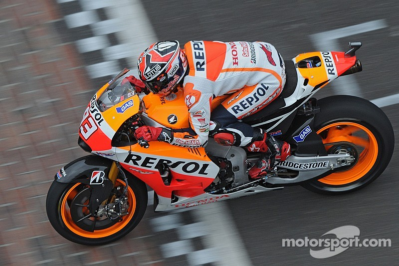 Marquez quickest after first day of practice in Indianapolis