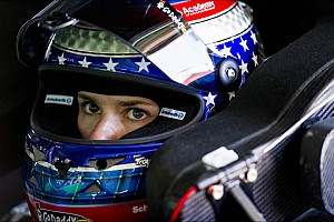Danica Patrick destroys her primary car in Happy Hour