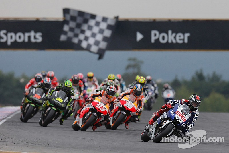 MotoGP riders prepare for battle in the Czech Republic