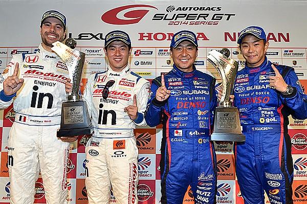 Naoki Yamamoto and Frederic Makowiecki win at Fuji