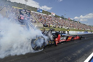 NHRA Testing report Todd and Hagan fastest in NHRA U.S. Nationals testing