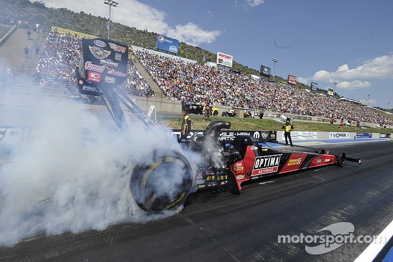 Todd and Hagan fastest in NHRA U.S. Nationals testing