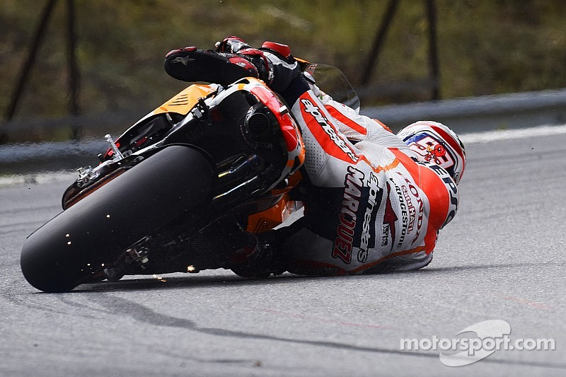 Bridgestone: Marquez close to record pace on first day of practice at Silverstone