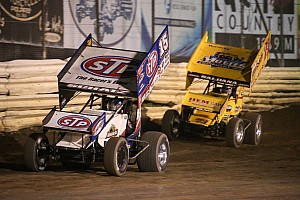 World of Outlaws Race report Another dominate night for Schatz as he wins at Monster Meltdown