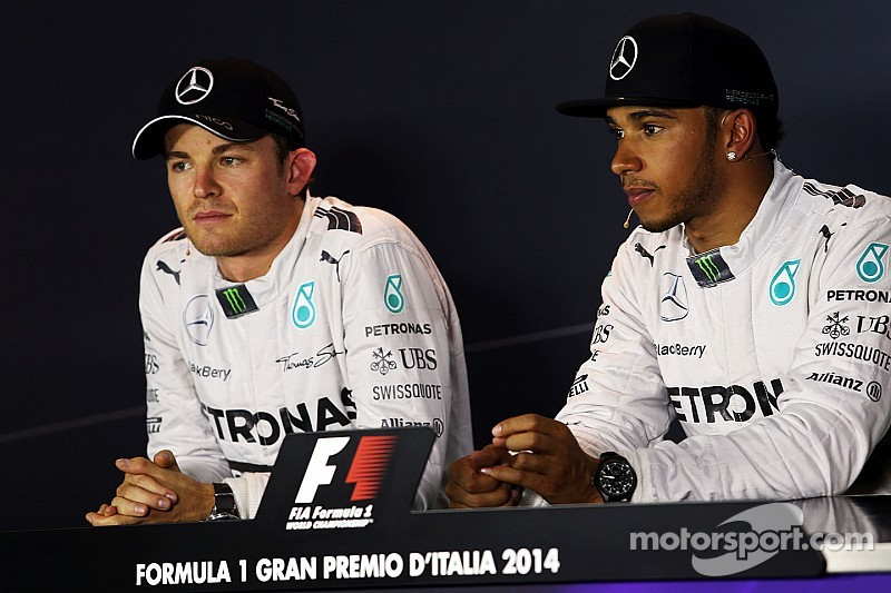 Hamilton and Rosberg ready to race, not concerned about another clash