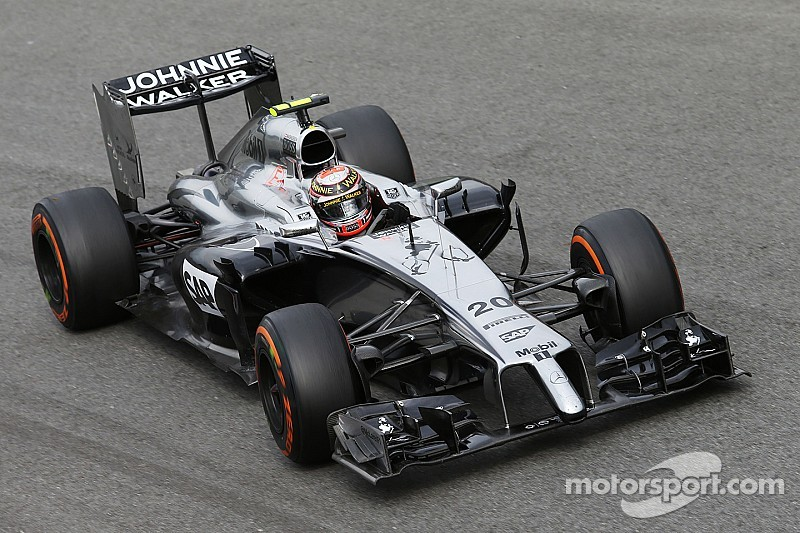 McLaren locking out the third row of the grid for tomorrow's Italian GP