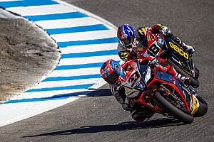 World Superbike Race report Melandri wins an exciting race 1