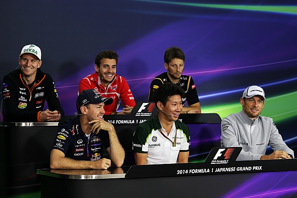 2014 Japanese Grand Prix Thursday press conference