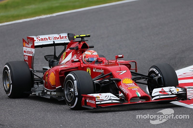 Scuderia Ferrari drivers sixth and seventh on free practice at Suzuka