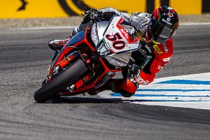 World Superbike Race report Rejuvenated title hopes for Guintoli after home round success