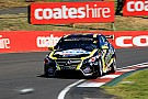 Holdsworth flips in late-race tangle with Ingall