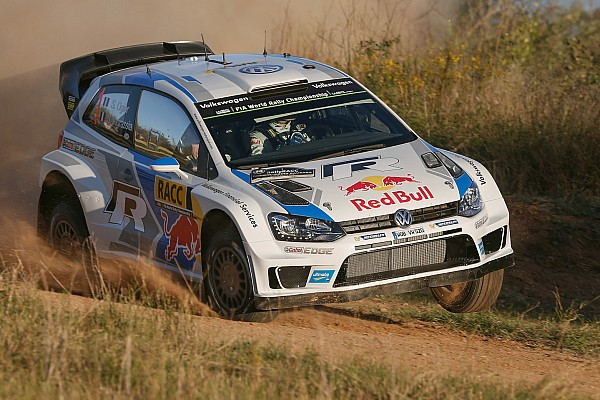 Ogier leads opening leg of Rally Spain