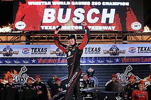 NASCAR Truck Breaking news Busch adds to KBM win tally at Texas