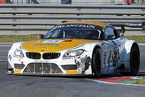 Alessandro Zanardi goes onto the streets of Baku with his BMW Z4 GT3
