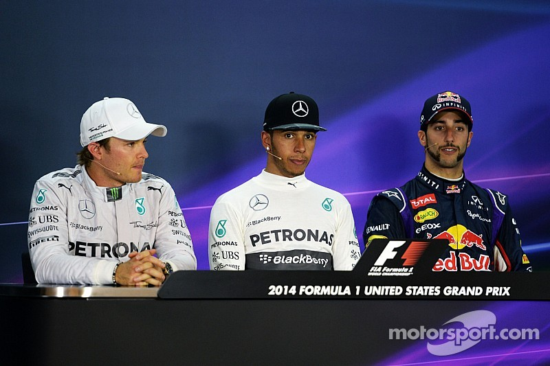 2014 USGP press conference: Rosberg will continue to fight