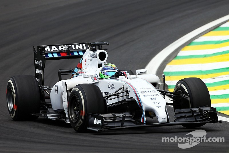 After free practice, Williams is optimistic for the Brazilian GP weekend