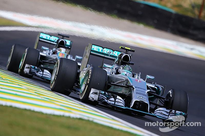 Mercedes not preparing 'Hamilton' or 'Rosberg' title t-shirts
