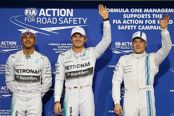 Rosberg takes the fight to Hamilton with Abu Dhabi pole